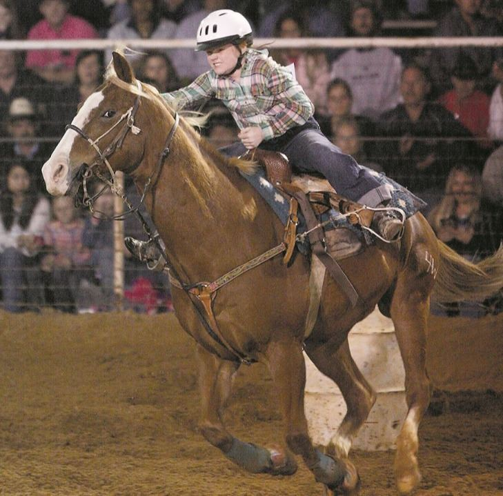 Barrel Racing at Fair Park Arena