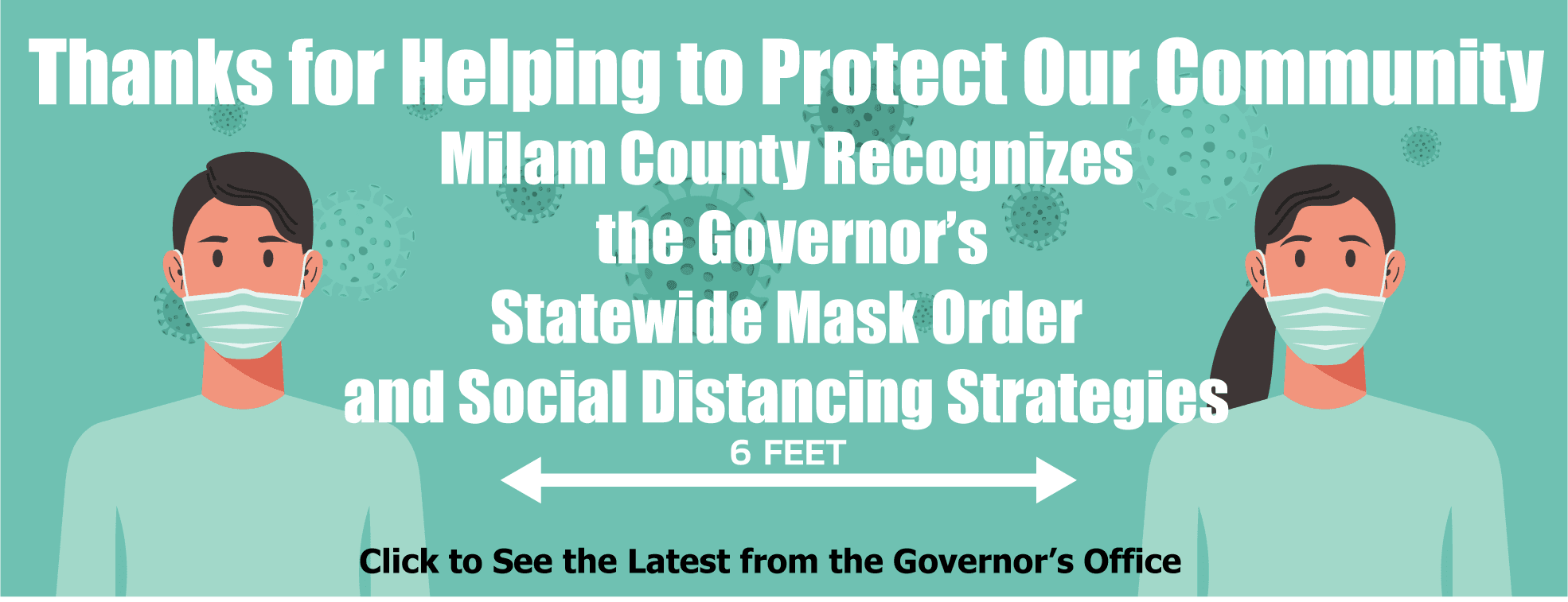 Governor's Mask Order