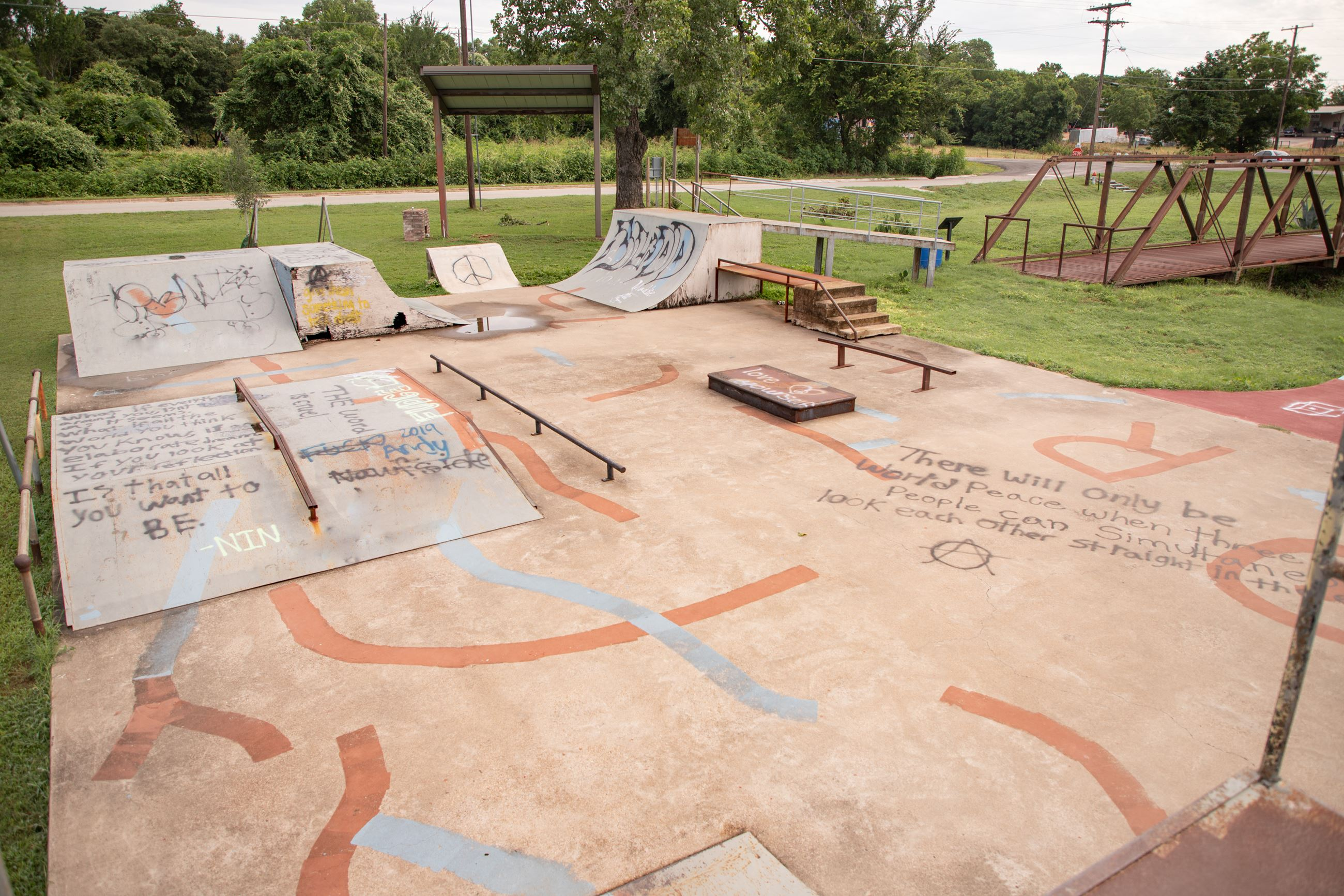 Skate Park obstacle course