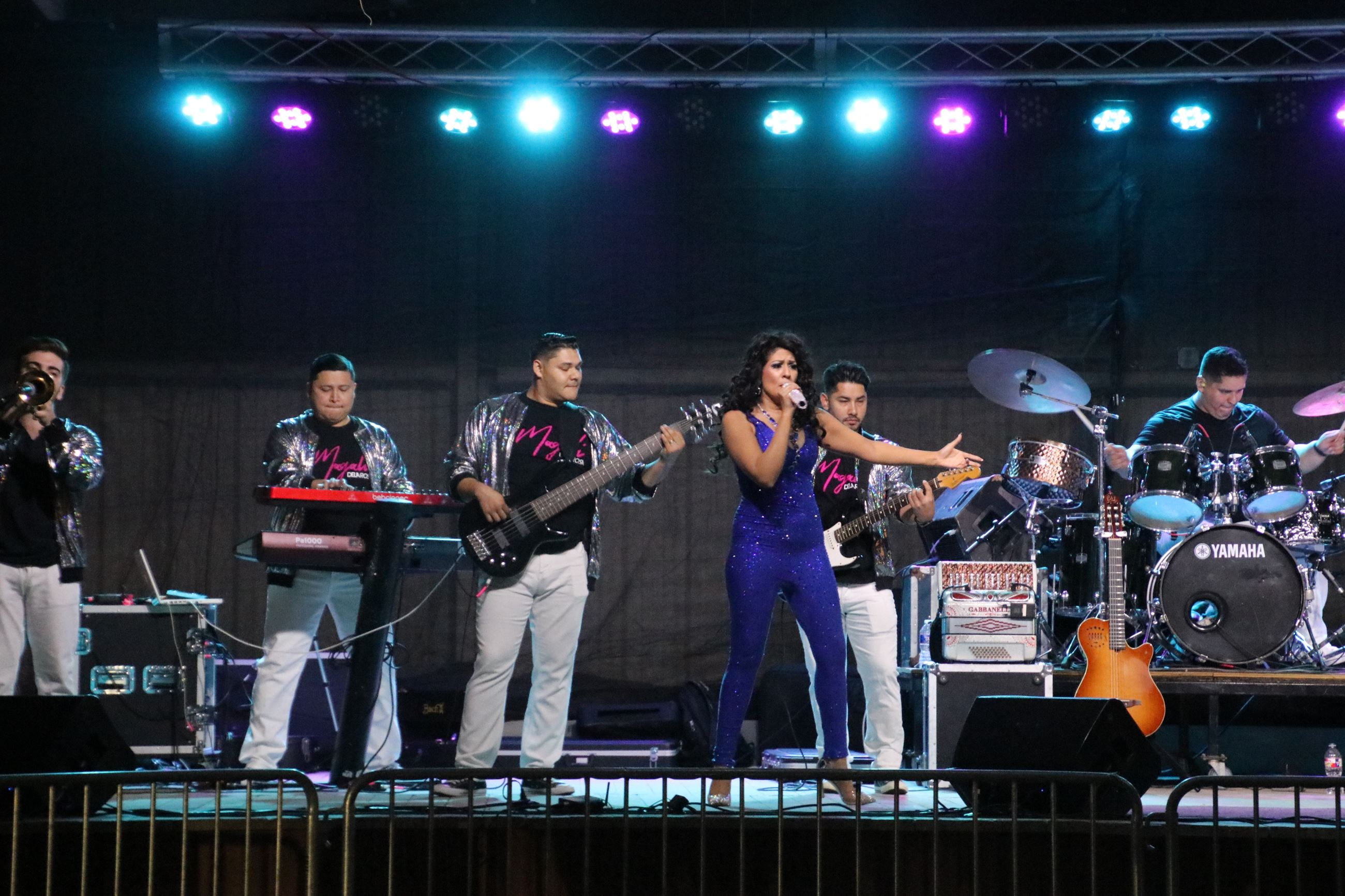 Maglia DeLaRosa at 2020 Rockdale Fair & Rodeo Tejano Night